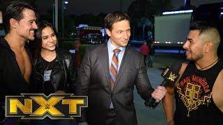 Raul Mendoza congratulates Angel Garza and his fiance NXT Exclusive Dec 11 2019