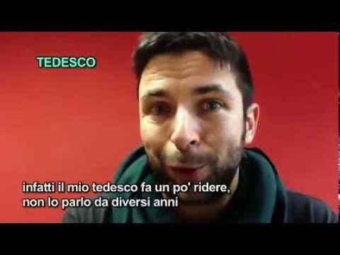 """PABLO TRINCIA """"LE IENE"""" PARLA 30 LINGUE  - Polyglot Practicing 30 Languages"""