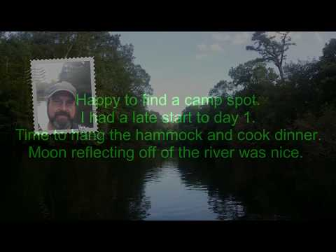 Kayak Camping Lumber River NC State Park to Nichols SC 26 Miles Part 1