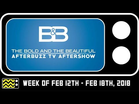 Bold & The Beautiful for week of Feb 12th  Feb 16th, 2018  w Lawrence Saint Victor