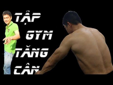 Hướng dẫn cách Tập Gym để tăng cân tăng cơ dành cho người gầy   Dinh dưỡng để tăng cân tăng cơ