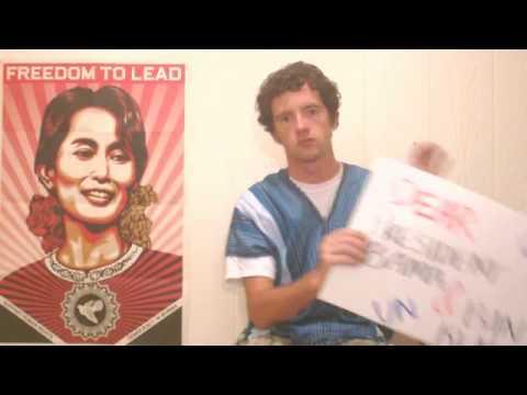 Oppose Burma's Sham Election - Paul Doogan, Arizona