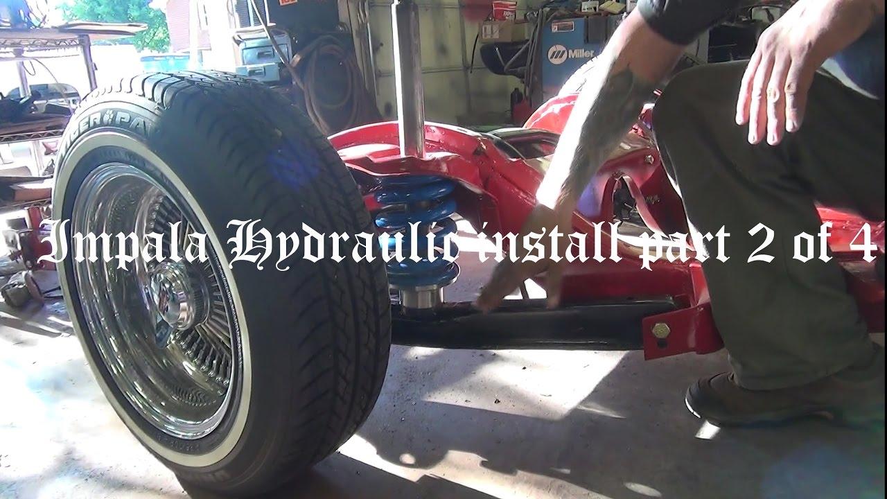 How To Impala Hydraulics Install Part 2
