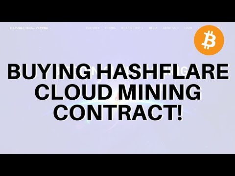 BUYING HASHFLARE MINING CONTRACT ! (+Comparison with crypterra)