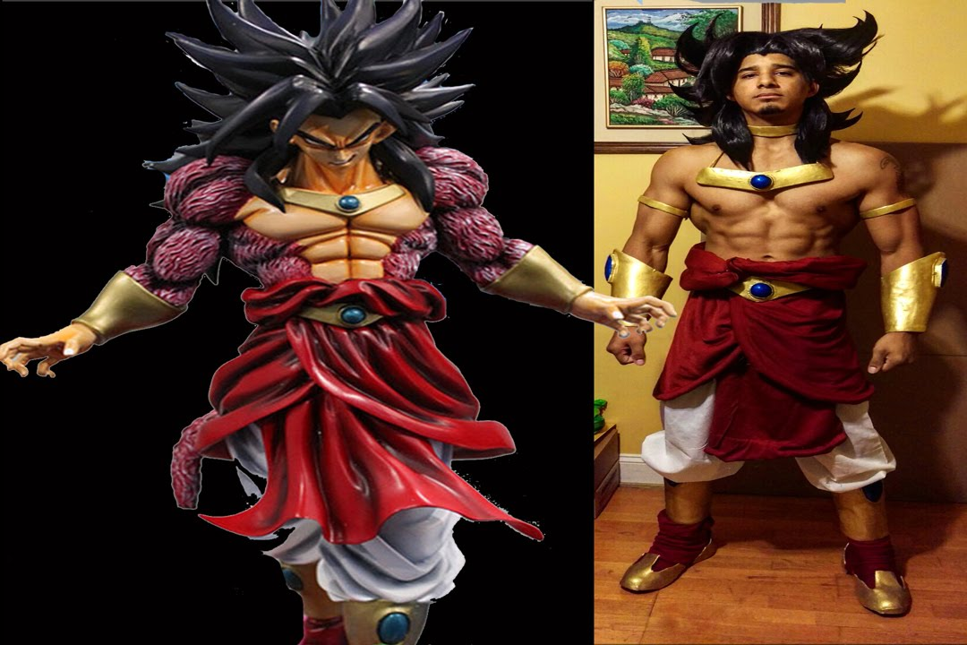 Broly SSJ4 Male Cosplay Comic Con 2015  sc 1 st  YouTube & Broly SSJ4 Male Cosplay Comic Con 2015 - YouTube