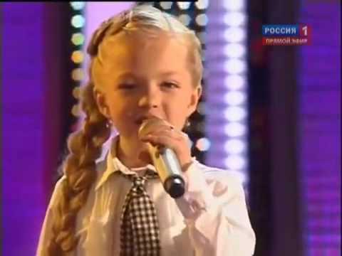 8 Year Old Talented Ukrainian Girl   Anastasia Petrik   Singing Oh Darling   Superb   Excellent