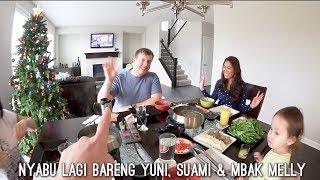 VLOG SHABU-SHABU LAGI BARENG TEMAN INDO | SARAPAN PANCAKE WITH MADDY