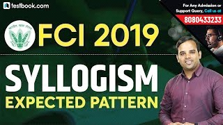 FCI Reasoning Classes | Expected Syllogism Questions based on FCI Phase 1 Syllabus | Sachin Sir