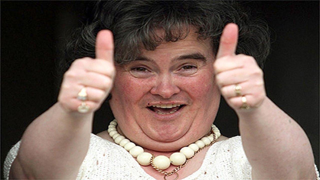 Susan Boyle's Wet Thong Or Queen's Pooey Bum? LOL! Belgium
