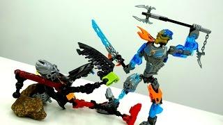 Гали Лего Бионикл защищают город Лего игрушек.