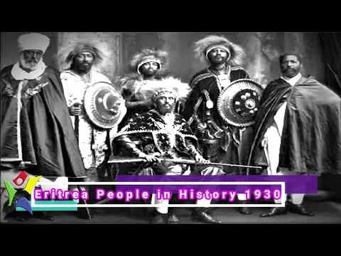 Eritrea People in History 1930s
