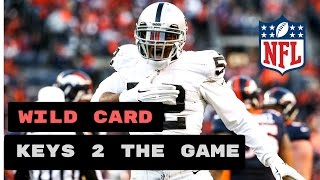 Houston Texans vs Oakland Raiders Preview | NFL Playoffs Wild Card 2017