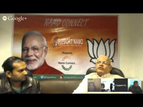 Hangout With Shri. Vinay Sahasrabuddhe on BJP's vision and mission on Delhi elections