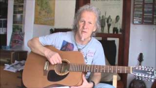 Honky Tonk Women in Open G: easy guitar lesson