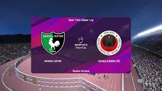 PES 2020   Denizlispor vs Genclerbirligi - Super Lig   14/03/2020   1080p 60FPS