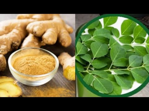 Ginger And Moringa The Miraculous Combination That Fights Many Diseases!