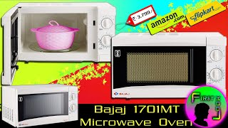 Bajaj Microwave Oven 1701MT REVIEW | FIRST LOOK