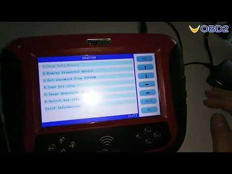 SKP1000 Key Programmer Function Support Vehicle List--UOBD2