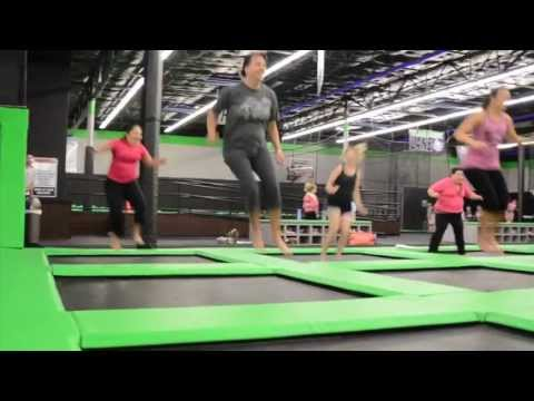 Flight Deck Trampoline Park's Vertical Aerobics