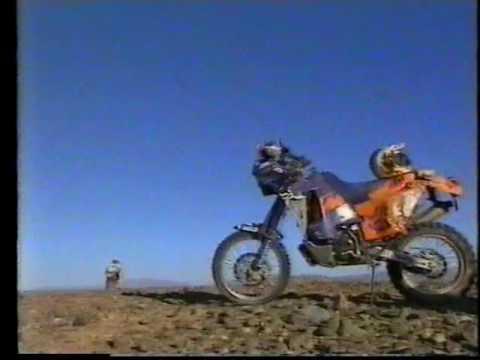 KTM Promo of 1998 Dakar featuring Aussie Andy Hayden