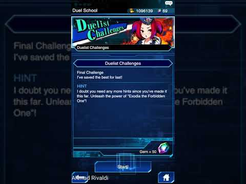 YuGiOh! Duel Links - Duelist Challenge #5 Event 31 January / 5 February 2018