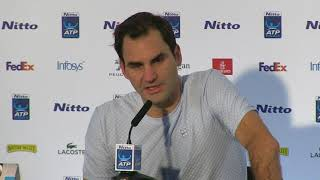 Federer reflects on 'exceptional' season