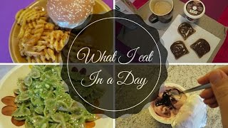 WHAT I EAT IN A DAY #1 // COSA MANGIO IN UN GIORNO