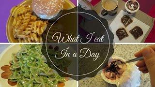 WHAT I EAT IN A DAY #1 // COSA MANGIO IN UN GIORNO