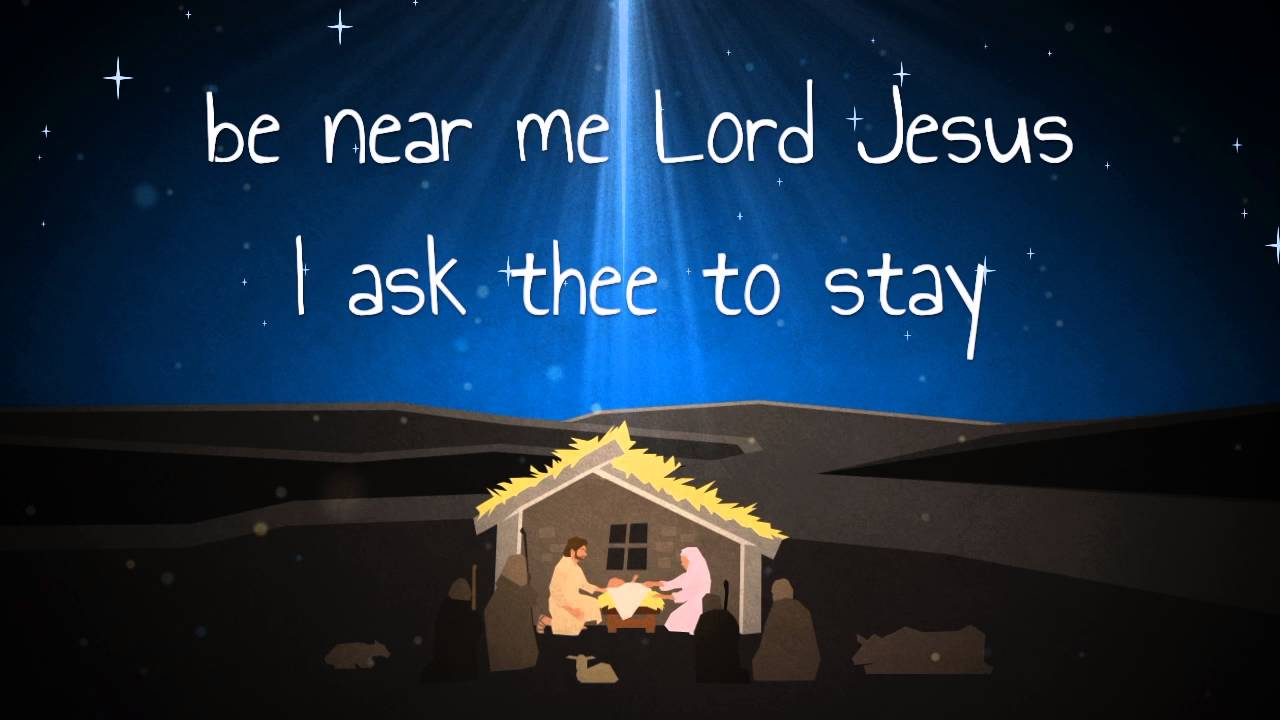 Away in a Manger - Kid's Version w/ Lyrics