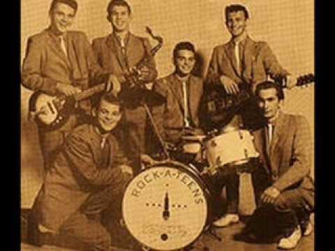 """THE ROCK -A-TEENS - """"WOO HOO"""" (1959)"""