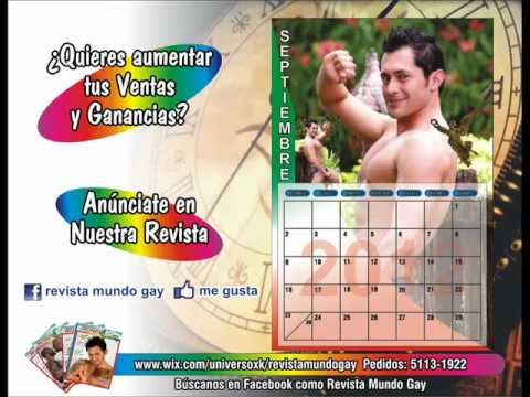 Calendario Gay.Calendario Sexy Gay Cristian Chavez Libertad