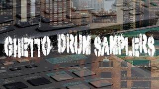 Ghetto Drum Samplers - Vintage Drum Samples - Goldbaby Samples