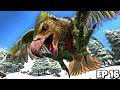 Taming up a MAX LEVEL 600 ARGENTAVIS and DIREWOLF! | ARK Survival Evolved Jurassic Modded #16