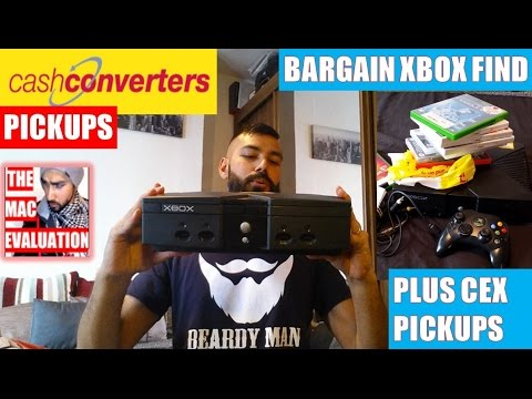 CASH CONVERTERS PICKUPS Bargain Xbox Find Plus CEX Gaming PICKUPS