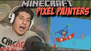 """PIXEL PAINTERS -""""POVRATAK NAJBOLJEG SLIKARA NA SVIJETU!!!!"""" - minecraft"""