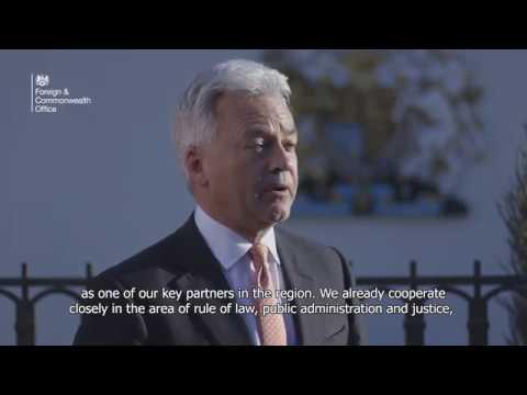 Minister Alan Duncan - Montenegro visit