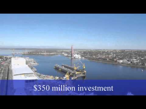 $350 Million Modernization of Halifax Shipyard
