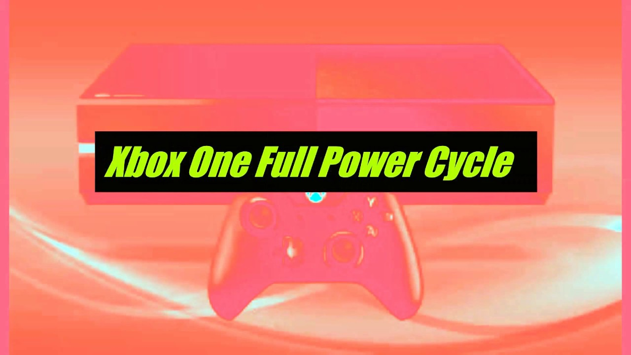 How to Clear Xbox One Cache (Full Power Cycle, Hard Restart)