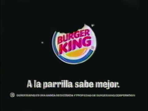 Comercial Burger King 2x1 Promo 2004 Youtube