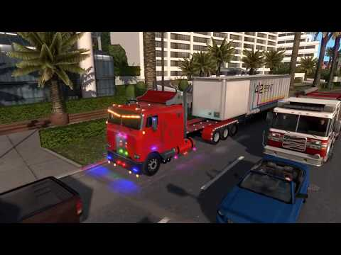 1 29] American Truck Simulator | Peterbilt 352 Cabover v 2 0 | Mods