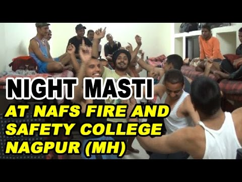 Masti at NAFS Fire and Safety College Nagpur