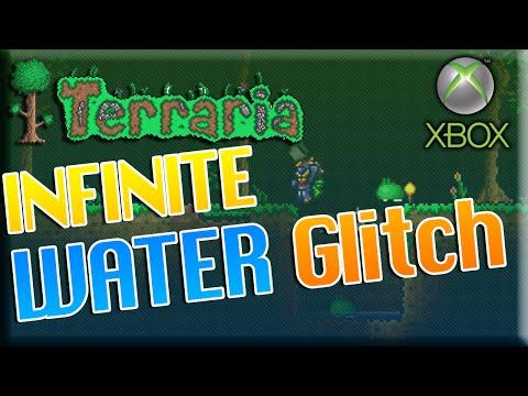 Terraria Xbox 360/ONE: UNLIMITED WATER 1.2.4.1 Glitch!