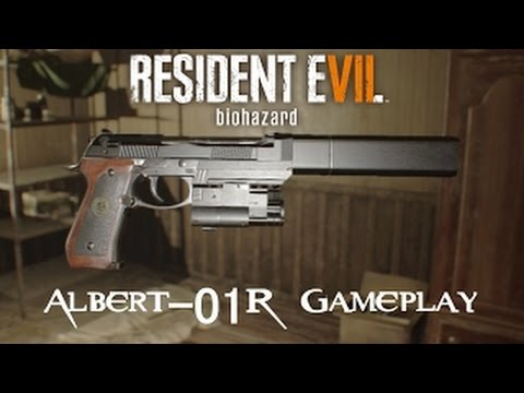 RE7: How to get Albert Wesker's gun| Where to find Albert-01R