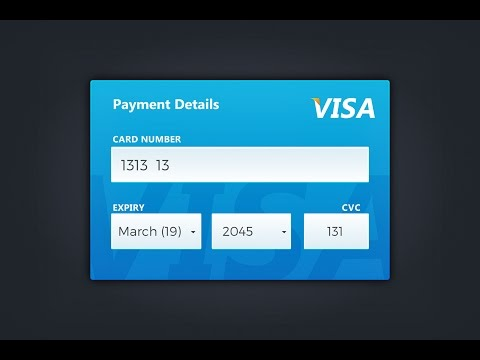 Illustrator tutorial | VISA (Credit Card) Design