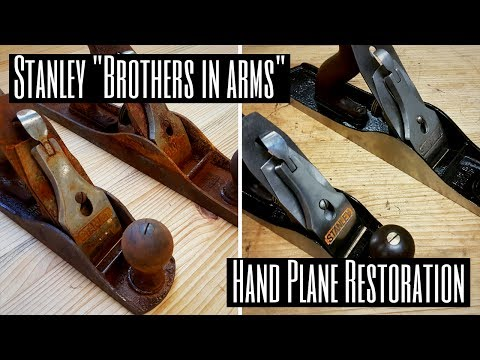 "Stanley ""Brothers In Arms"" Hand Plane Restoration"