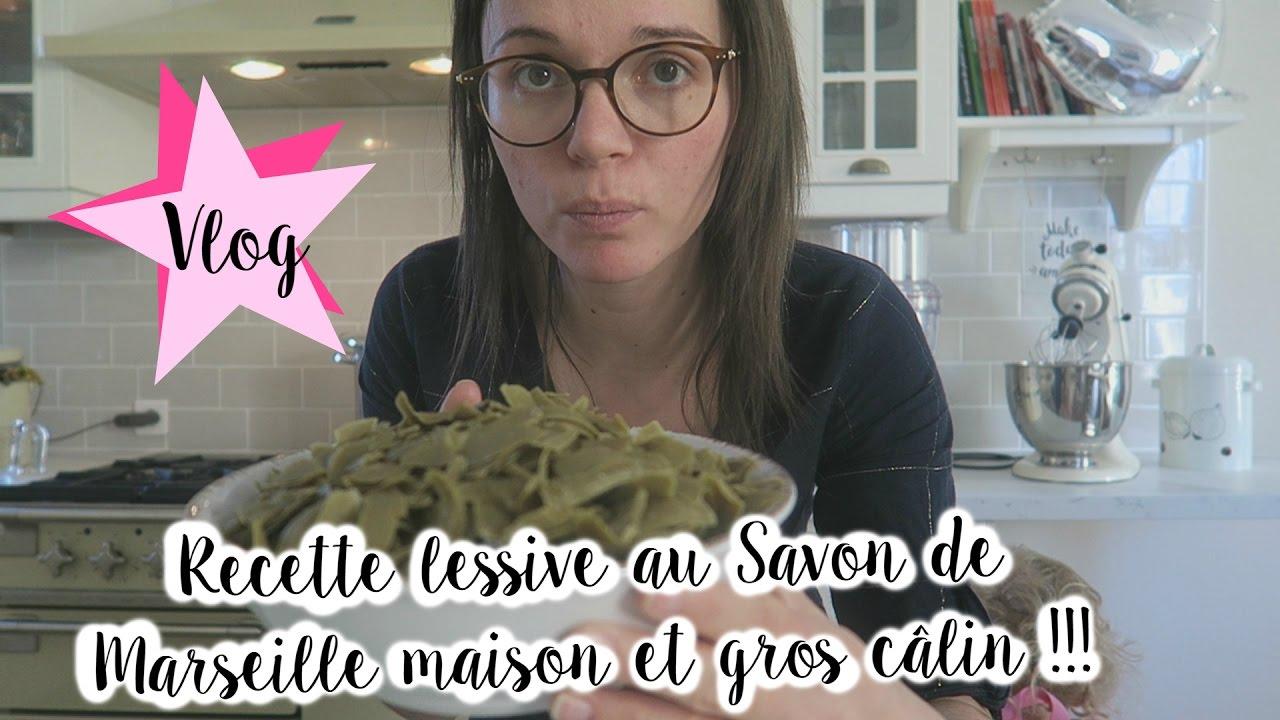 Vlog famille 160 comment faire sa lessive maison au savon de marseille et gros c lin - Comment fabriquer sa lessive ...