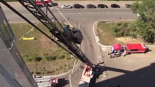 видео Тушение пожаров: условия, способы
