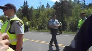June 21 stopping the thumper trucks.