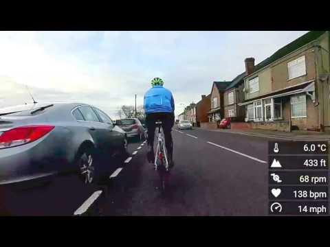 Road Bike Newton - Blackwell  clip (Virb XE 720p 24fps)