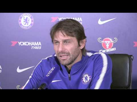 Antoinio Conte pre Chelsea v Southampton